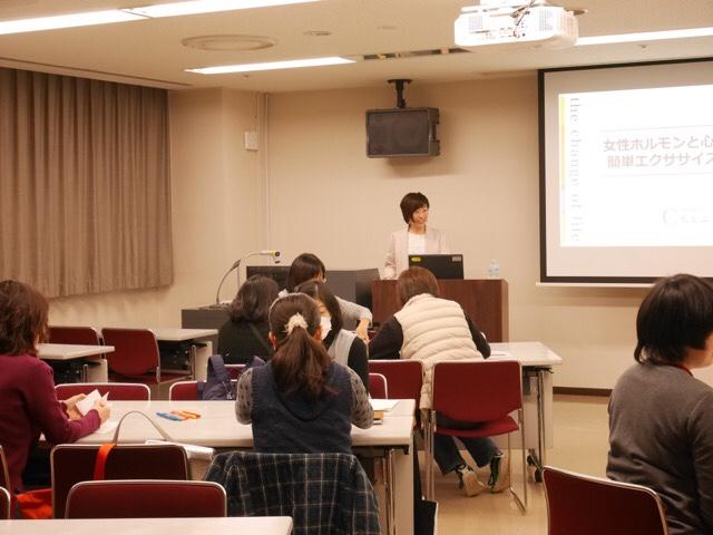 20190202 愛知県 / 小牧市 まなび創造館「ちぇぶら」連続セミナーの様子